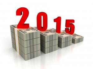 dollar pack bar chart 2015 year growth