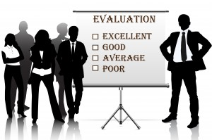 human resources manager check  evaluation form report card