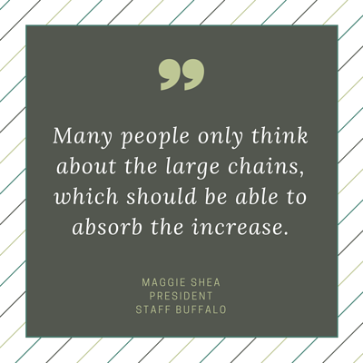 Quote - Maggie Shea - minimum wage new york