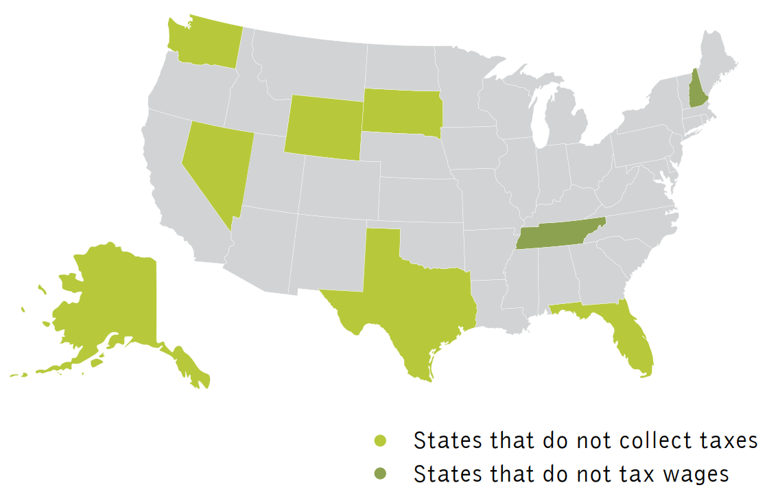 Tax rates vary between states - Complete Payroll