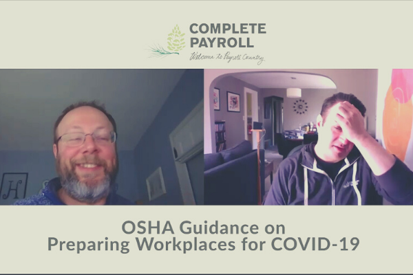 OSHA Guidance on Preparing Workplaces for COVID-19 Video