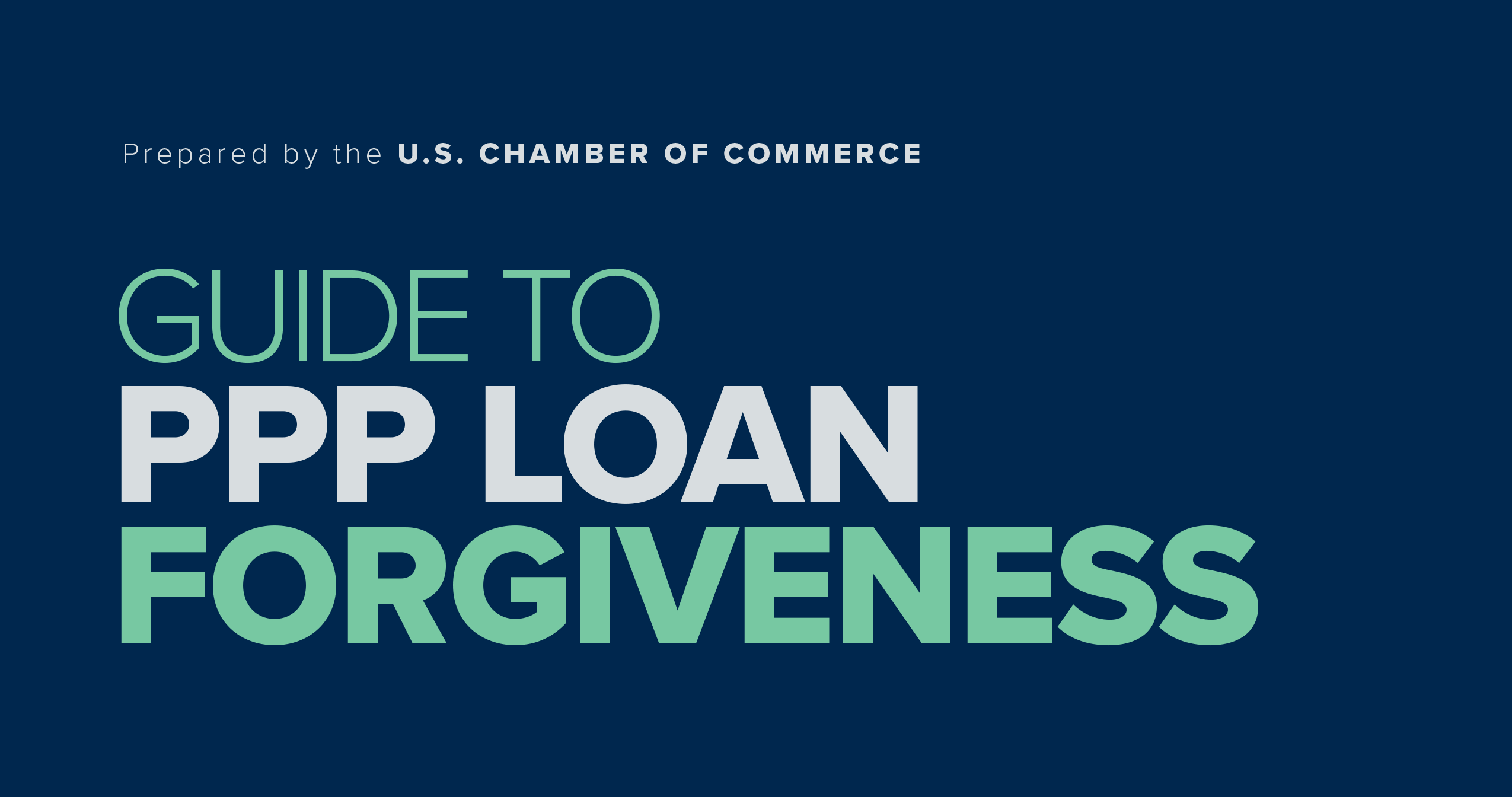 USCOC Guide to PPP Loan Forgiveness